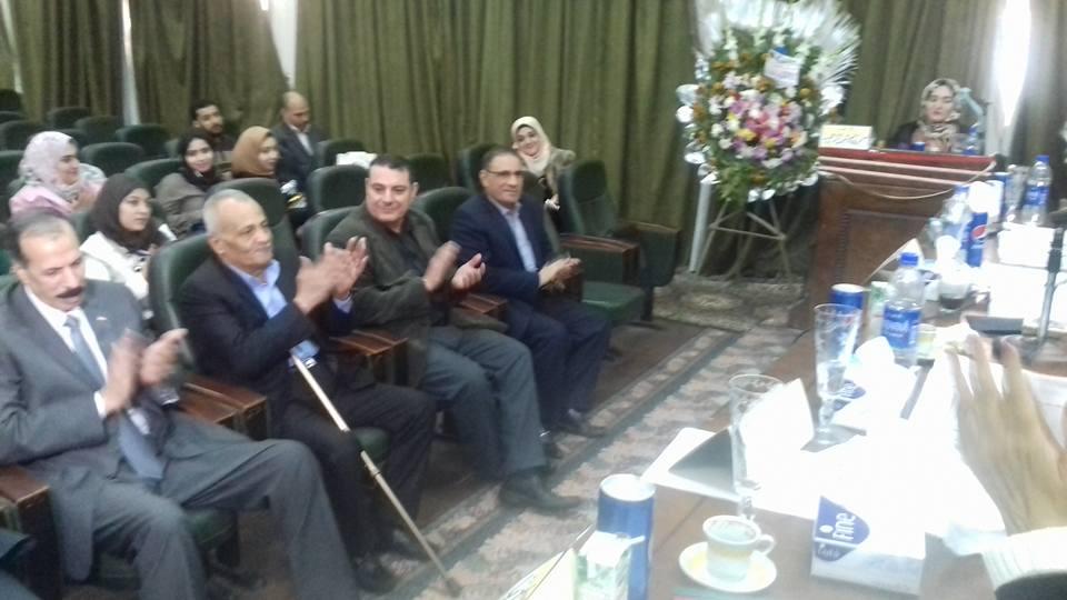 مناقشة رسالة ماجستير للباحثة /سمر ابراهيم عودة المعيدة بقسم الاجتماع