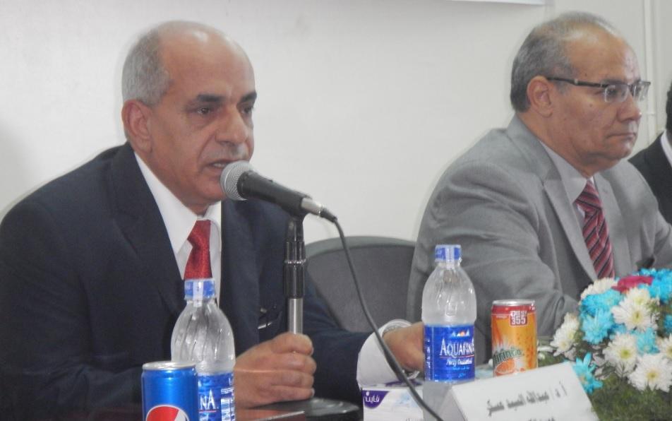 """ندوة """"مصر فى مجلس الامن """" للدكتور/سعيد اللاوندى -بكلية الاداب"""