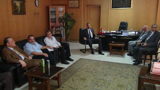 The visit of the Rector of the College