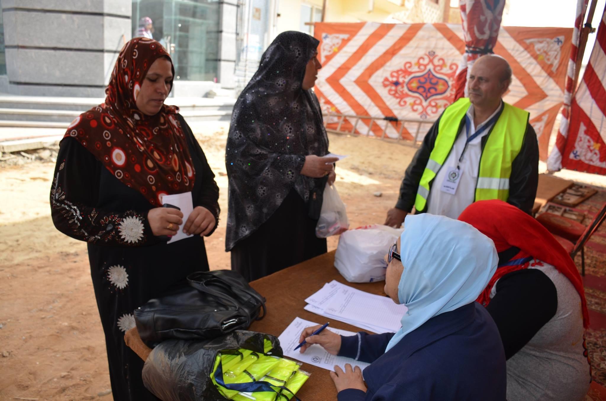 Medical convoy Tenth of Ramadan City