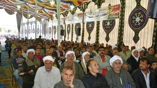 """محافظ الشرقية ورئيس جامعة الزقازيق يشاركان في مؤتمر جماهيري لائتلاف """"دعم مصر"""" بفاقوس (صور)"""
